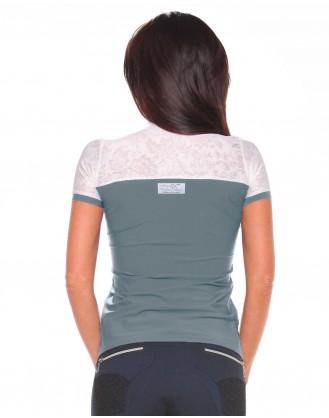 Дамска блуза за състезания, сива