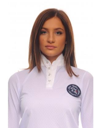 Блуза за състезания с дълъг ръкав, рипс