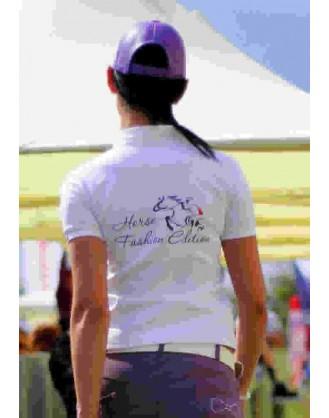Дамска блуза за състезания, бяла