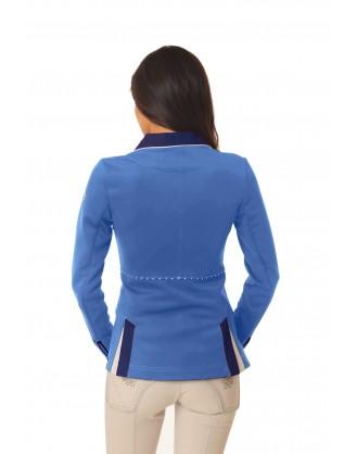Дамско сако за състезания, светло синьо
